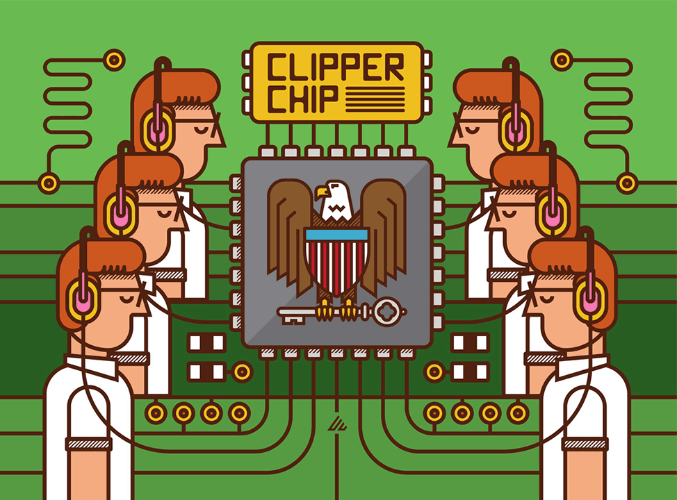 April 16, 1993 the White House announces the Clipper chip